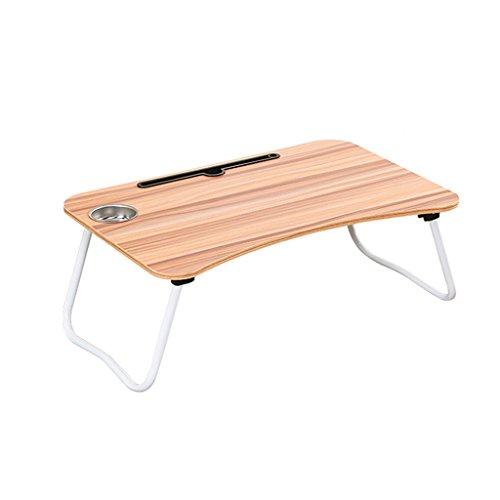 Portable portable table carte slot + tasse fente lit bureau pliable étudiant paresseux dortoir table petit bureau étude table simple