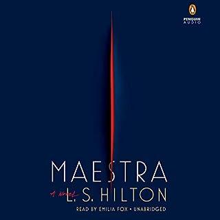 Maestra audiobook cover art