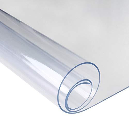 Ljmm888-Manteles PVC Almohadilla Protectora Transparente
