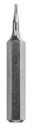 KWB Bit-Set 28-mm Hex 0.7, 0.9, 1.3, 1.5, 2.0 mm Micro-Bit für Fein-Mechanik (Schaft 4-mm, Tq 60 Stahl, mit Haltestreifen, für Mikro-Bit-Halter)