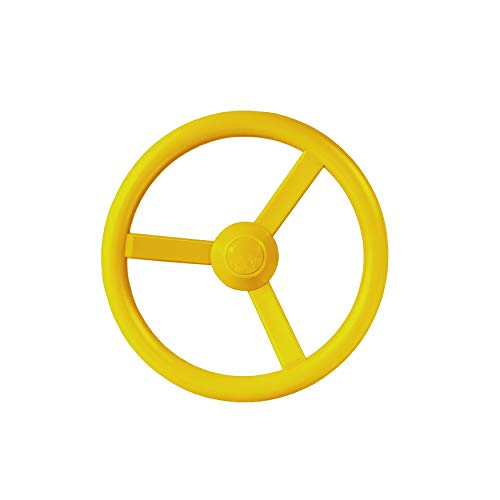 Gorilla Playsets 07-0004-Y Steering Wheel, Yellow with Mounting Hardware