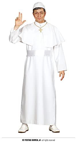 FIESTAS GUIRCA Disfraz de Papa Hombre Talla L 52 - 54
