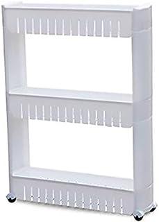 Organizer For Kitchen And Bathroom 3 Shelves, White