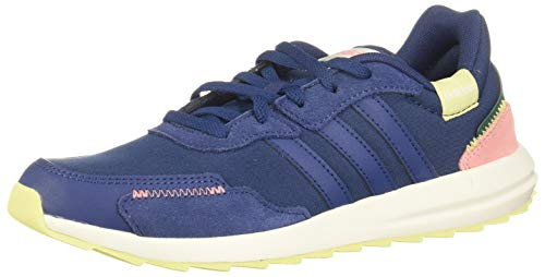 adidas Damen Retrorun Laufschuhe, Blau Tech Indigo Tech Indigo Glory Pink, 42 EU