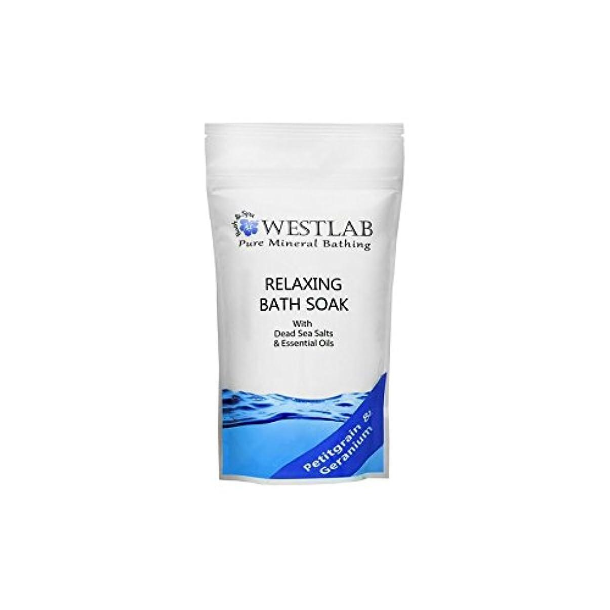 賠償逆薬局死海の塩浴浸漬(500グラム)をリラックス x4 - Westlab Relax Dead Sea Salt Bath Soak (500g) (Pack of 4) [並行輸入品]