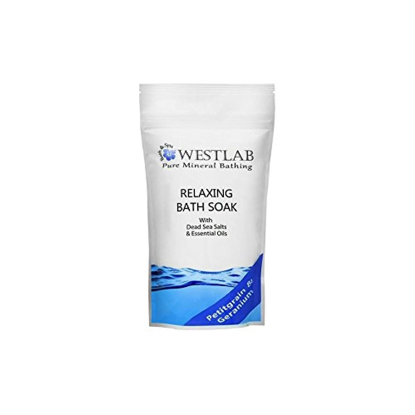 考え精度ウール死海の塩浴浸漬(500グラム)をリラックス x2 - Westlab Relax Dead Sea Salt Bath Soak (500g) (Pack of 2) [並行輸入品]