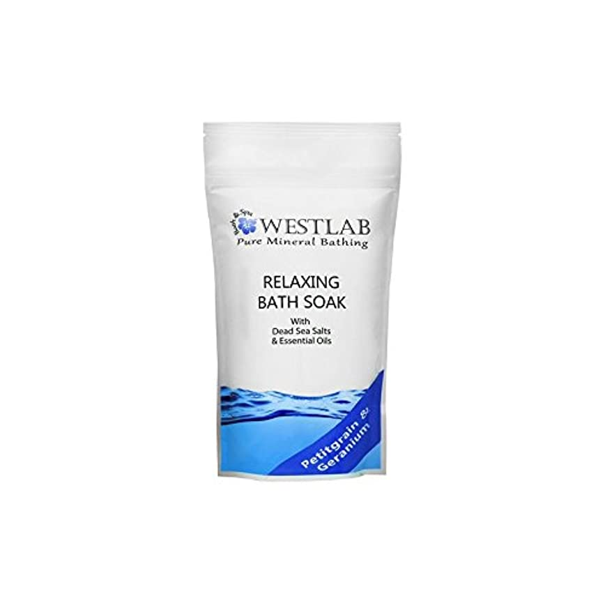 摘む理容室合成死海の塩浴浸漬(500グラム)をリラックス x2 - Westlab Relax Dead Sea Salt Bath Soak (500g) (Pack of 2) [並行輸入品]