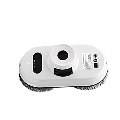 carduran Robot Window Cleaner - Automatic Window Electric Robot Cleaner Glass Cleaning Smart Control Machine for Table High Windows Ceiling Magnetic Automatic Outdoor/Indoor