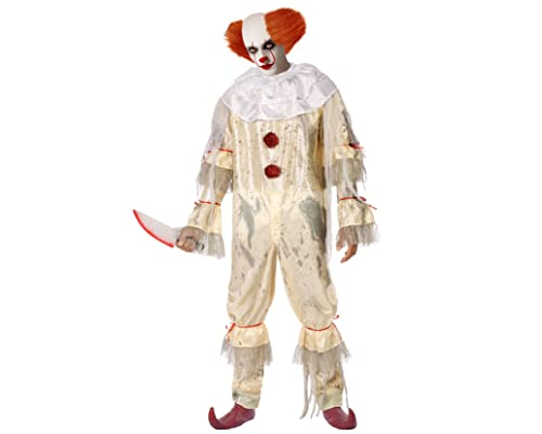 Atosa Déguisement Clown Tueur Homme
