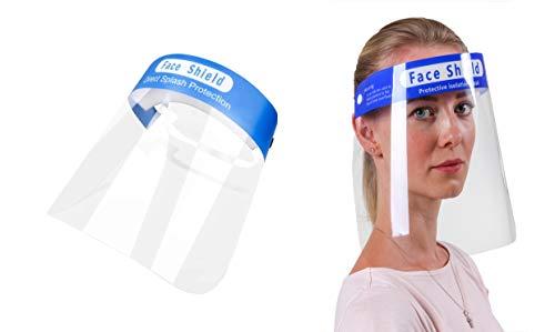 VENEZIANO Mascherine protettive, Respiratore per Maschera Antipolvere, Mascherina di Protezione, Maschere Lavabili, Anti inquinamento (50 pz mascherine Blu)