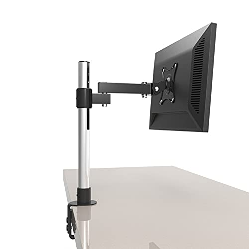 Soporte de monitor Ajustable para Pantalla de Computadora de 13-27 Pulgadas, Soporte de Escritorio para Un Solo Monitor, VESA 75 X 75 Mm / 100 X 100 Mm (Size : 40cm High)