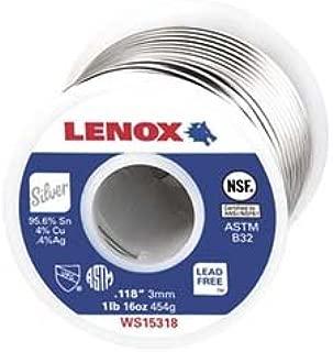 Lenox WS15319 1/4lb .118