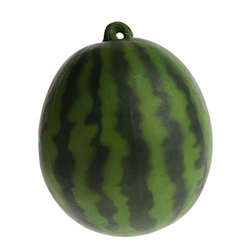 Backbayia Realistische Künstliche Früchte Wassermelone Kunstobst Küchenspielzeug Foto Requisiten