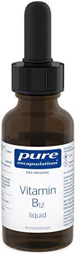 Pure Encapsulations - Vitamin B12 Liquid 500mcg - Vitamin B12 als Aktives Methylcobalamin - Nahrungsergänzungsmittel bei Müdigkeit & Erschöpfung - 30ml