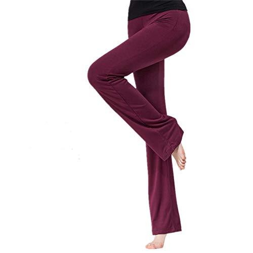 Damen Yogahose Mittelhohe Taille Stilvolle Freizeitliche Jogginghose Sport Lang Hose Yoga Fitness Hose für Fitness, Yoga, Pilates, Fitness,Training ,Outdoor-Sport und Als Alltagskleidung XL