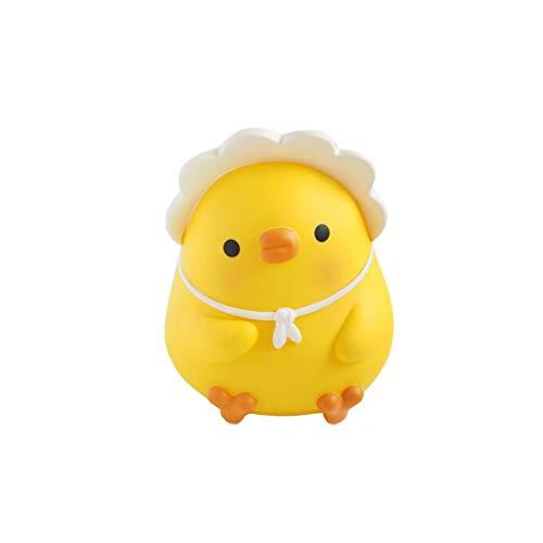 ZRL Saving Bank Pequeño Pato Amarillo Alcancía Cochecito de Dinero Lindo Cajas de Banco de Monedas de La Moneda de La Moneda para Niños Niñas Perfecto Decoración (Color : B)