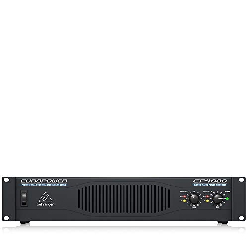 Behringer Europower EP4000 Professional 4,000-Watt Stereo Power Amplifier