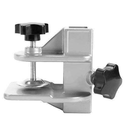 Atyhao Clip da Tavolo per toelettatura per Animali Domestici, Clip di Fissaggio per Dispositivo di Fissaggio in Lega di Alluminio Accessorio da Pinza per Animali Domestici Supporto per Clip(23×23mm)