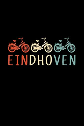 Eindhoven netherlands.: Notebook / Paperback with Eindhoven motive -in A5 (6x9in) dotted dot grid
