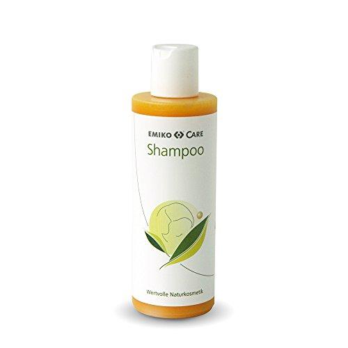EMIKO®Care Shampoo 200ml mild mit wertvollem Sanddornöl und EM-X Keramik Kugel
