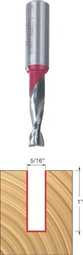 lowest Freud 2021 new arrival 75-104 5/16-Inch Diameter 2-Flute Up Spiral Router Bit with 1/2-Inch Shank sale