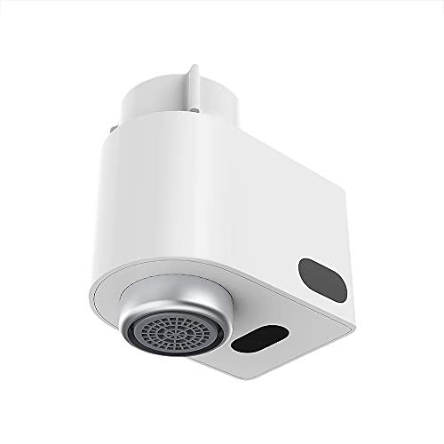 Guijiyi Grifo AutomáTico del Sensor, Adaptador Automático de Grifo Cocina sin Contacto, Dispositivo de Ahorro de Agua por Inducción Infrarroja, IPX6 Impermeable