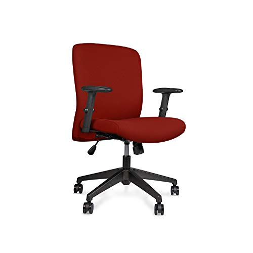 Wipro Furniture Smart Cushioned Back Polypropylene Office Executive Chair with Advanced Synchro Tilt Mechanism and Height...