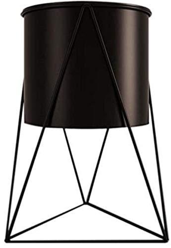 JARRONES Soporte de maceta de metal geométrico Soporte de jardín interior duradero Pantalla de la planta de pantalla plantador de hierro Soporte de flor de hierro Suministros de jardinería Decoración