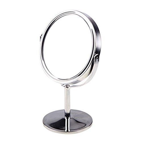Frcolor Maquillage miroir Double Face Miroir de table grossissant