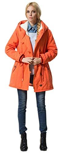 HaiDean winterjas dames sale vrije tijd outdoor warme parker met capuchon mode trekkoord