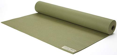 Jade Harmony Yogamatte, lang, 5 mm dick, 374OL, olivgrün, 188 cm x 61 cm x 0.5 cm