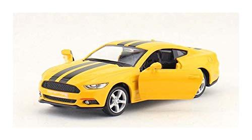 Coche de Juguete 1:36 para Mustang Pull Back Toy Aleación De Automóviles Casting Metal Collection Children's Toy Car Cumpleaños Regalos para Niños Chicas