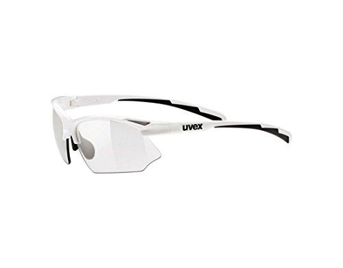 Uvex Sportstyle 802 v Weiß/Schwarz One Size