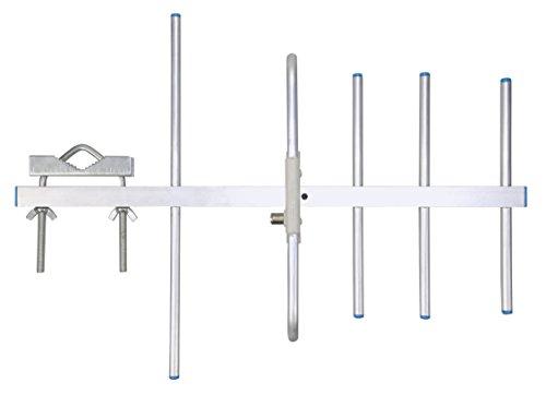 Xoro HAN 800 DVB-T/T2 Außenantenne (UHF, 8m Kabel, 8db) Silber