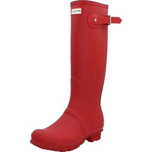 Hunter Original Tall Classic, Botas de Agua para Unisex Adulto, Rojo (Hunter Red), 37 EU