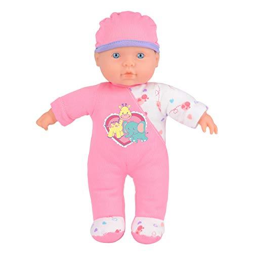 Toyrific Snuggles Baby-Puppe, Meine erste interaktive sprechende weiche Körperpuppe, Neugeborene Sophia