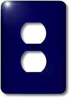 3dRose lsp_30649_6 Navy Blue Outlet Cover, Multi-Color