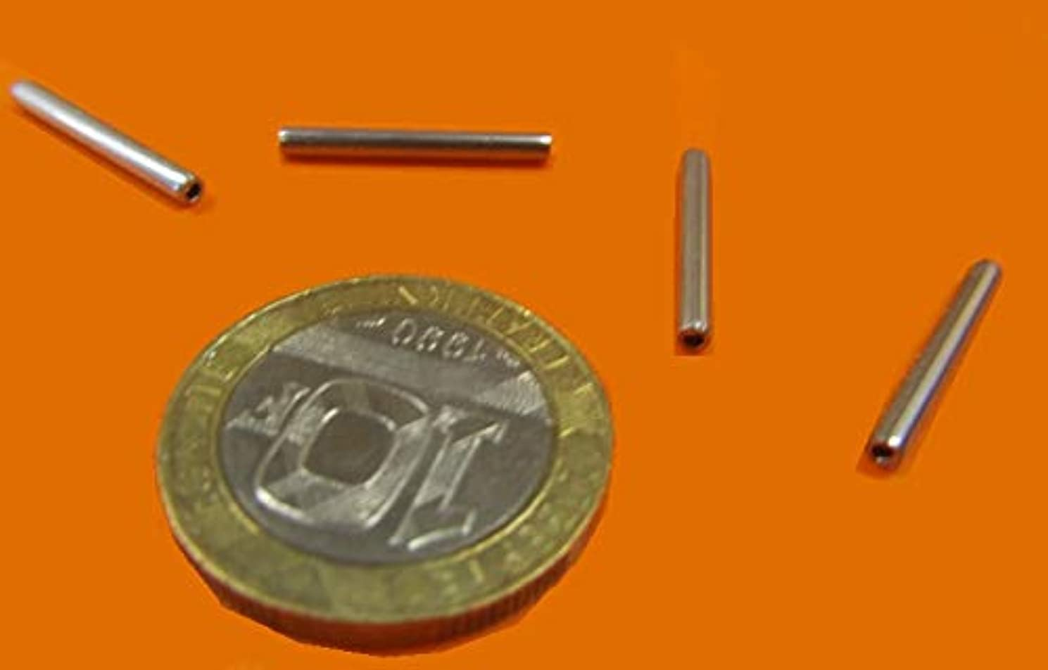 420 Stainless Steel Coiled Spring Pins, 5/64