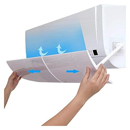 GJHL Air conditioning cover 1Pc Durable Adjustable Eco-friendly Anti Direct Blow Air Conditioner Wind Shield Deflector Baffle Board durable
