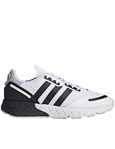Zapatilla Hombre Adidas ZX 1K Boost Color White/Core Black/halo Silver Talla 44 2/3