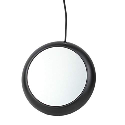 ROSELI Calentador de Tapete para Taza de Café, Posavasos USB a Temperatura Constante, para Oficina en Casa, Negro