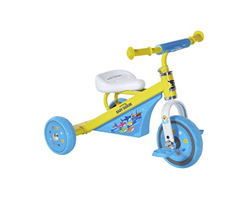 Baby Shark Trike with Sturdy Steel Frame for Ages 2-4