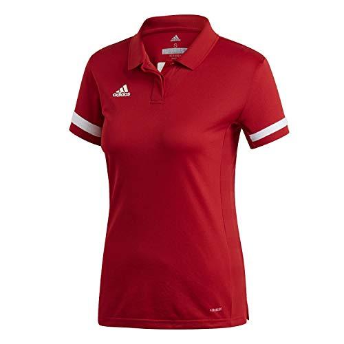 Adidas, Team 19 , Chemise Polo - Femme - Rouge - XL