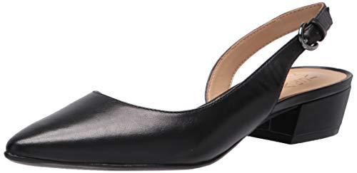 Naturalizer Women's Banks Slingback Pump, black leather, 11