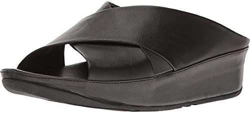 FitFlop Women's Kys Slide All Sandal Classic Limited price sale 6 Black Size