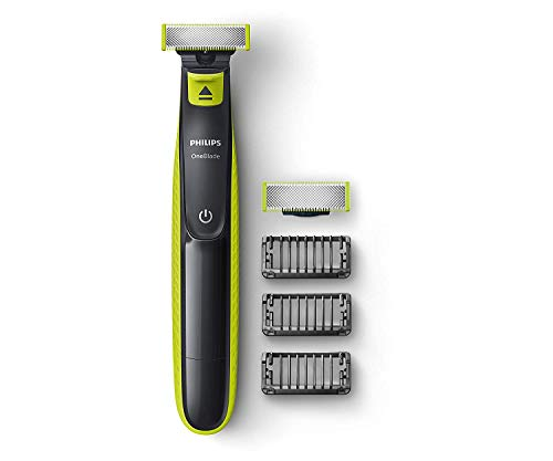 Philips QP2526/10 Cordless OneBlade Hybrid Trimmer and...