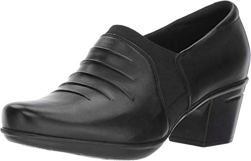Price comparison product image Clarks Women's Emslie Chara Dress Heel Black 8 Medium US