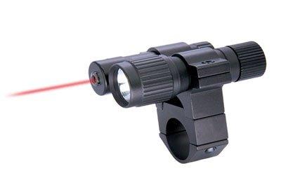 Conjunto Puntero laser BCrown con Linterna y Montura