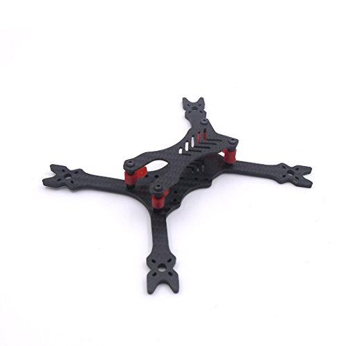 LEACO modeX HANTU 3 Inch 160mm 160 Carbon Fiber Frame kit TPU 3D Printing Parts for FPV RC Cross Racing Drone Quadcopter