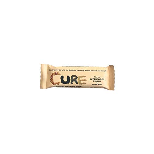 Original Cure Bars - 12 bars (Roasted Almonds & Honey) New discounted price